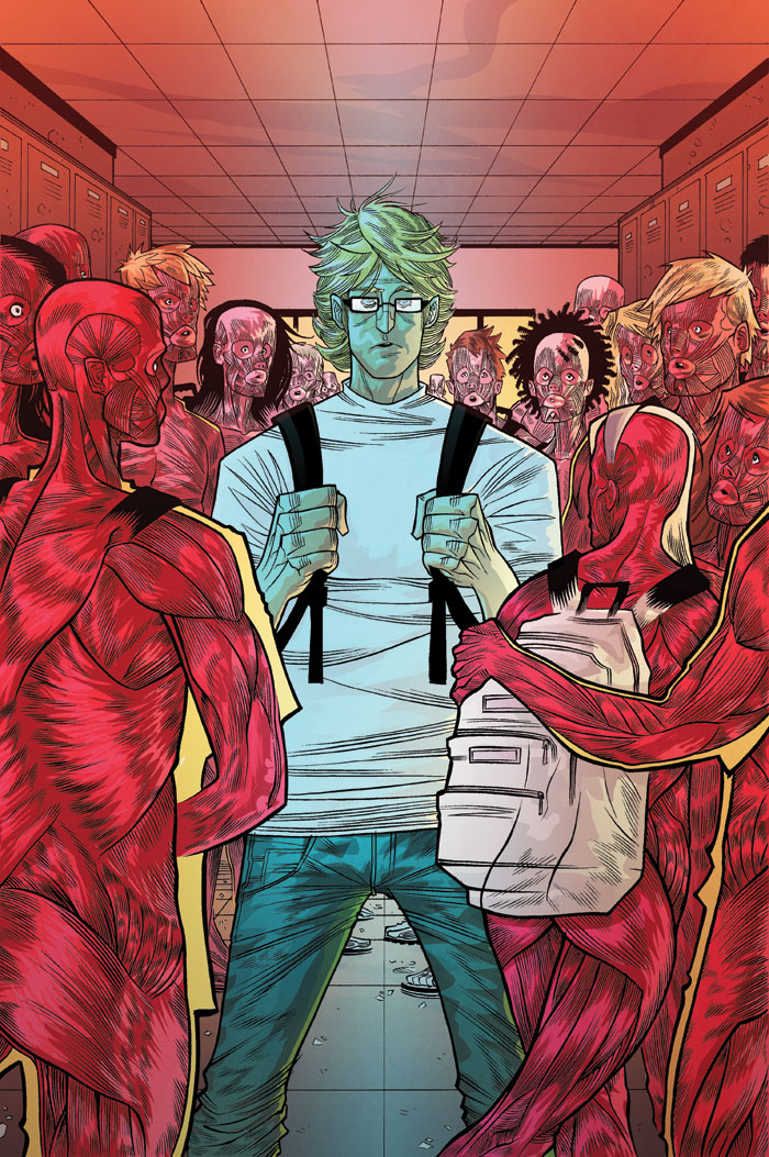 The Strange Talent of Luther Strode #2 -art by Tradd Moore and Felipe Sobreiro