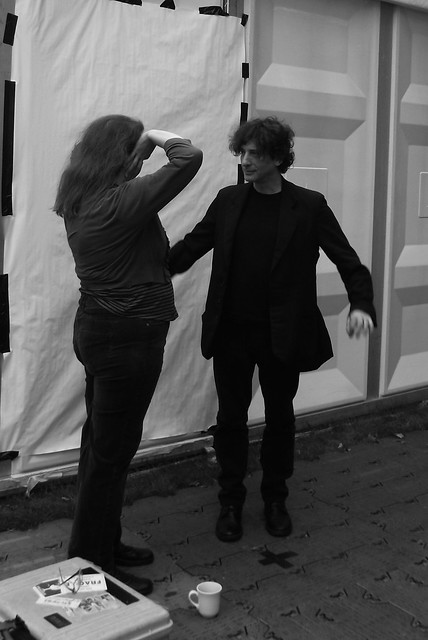 Edinburgh International Book Festival - Neil Gaiman 01