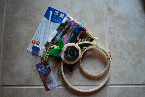 MMM Received - Embroidery Supplies