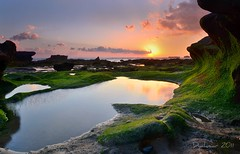 afternoon at mengening beach (Dyahniar Labenski) Tags: sunset bali nikon niar 1024mm d7000 ikniroviolet dyahniar