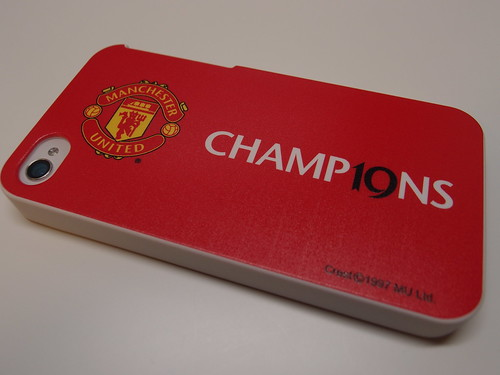 Manchester United 19th Champions iPhone4 Case