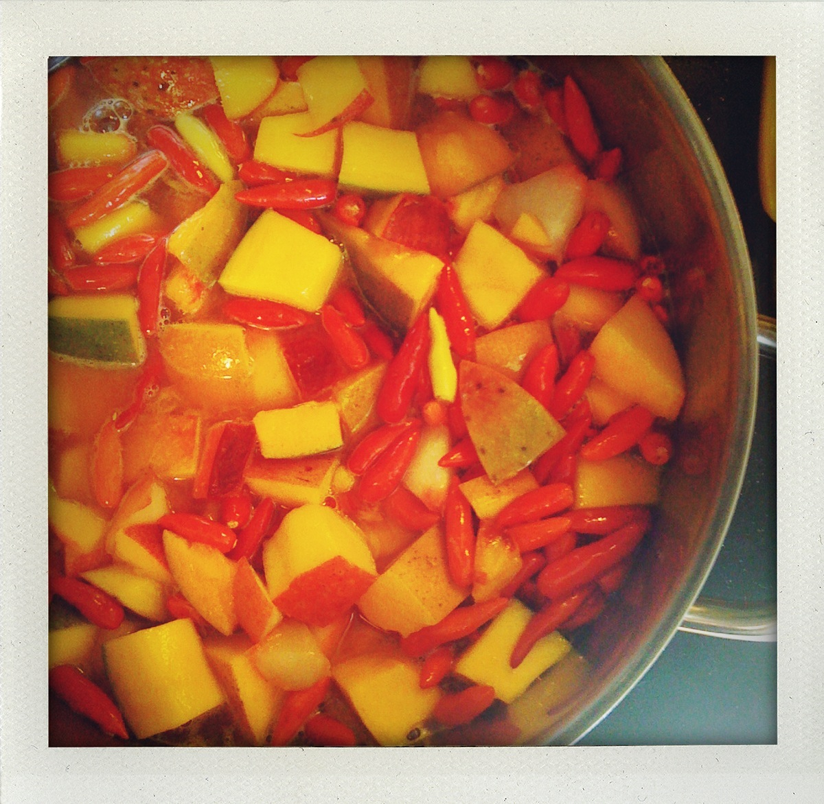 hot sauce makin'