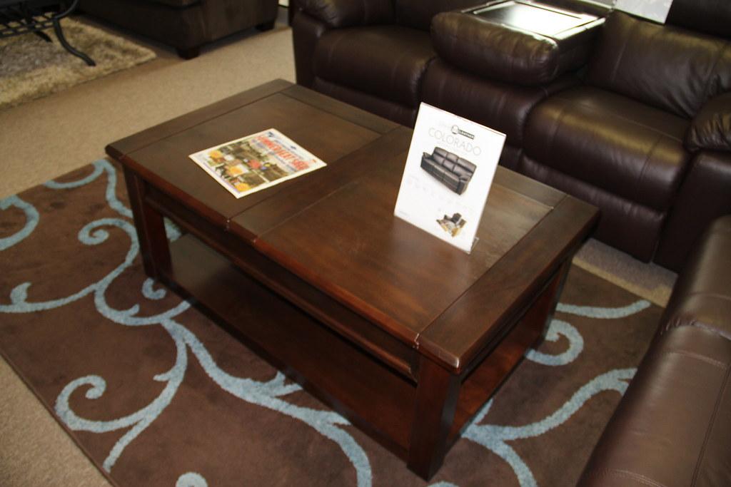 Dark Wood Coffee Tables