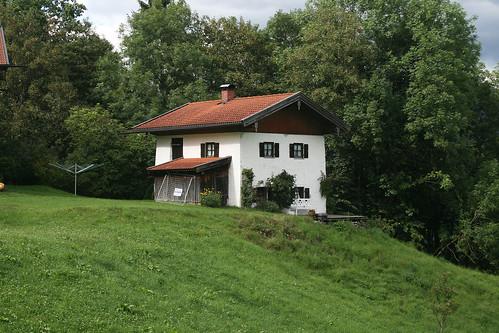 Häuschen am Berg