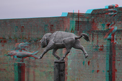 Musee des Beaux Arts Caen 3D (wim hoppenbrouwers) Tags: france 3d anaglyph musee stereo caen museedesbeauxarts stereopicture caen3d museedesbeauxartscaen3d