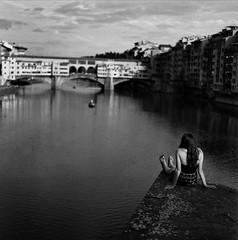 Wondering Florence (guido.masi) Tags: street blackandwhite white black florence masi firenze bianco nero guido biancoenero automat flexaret meopta guidomasi masiguido