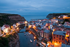 The Blue Hour in Staithes