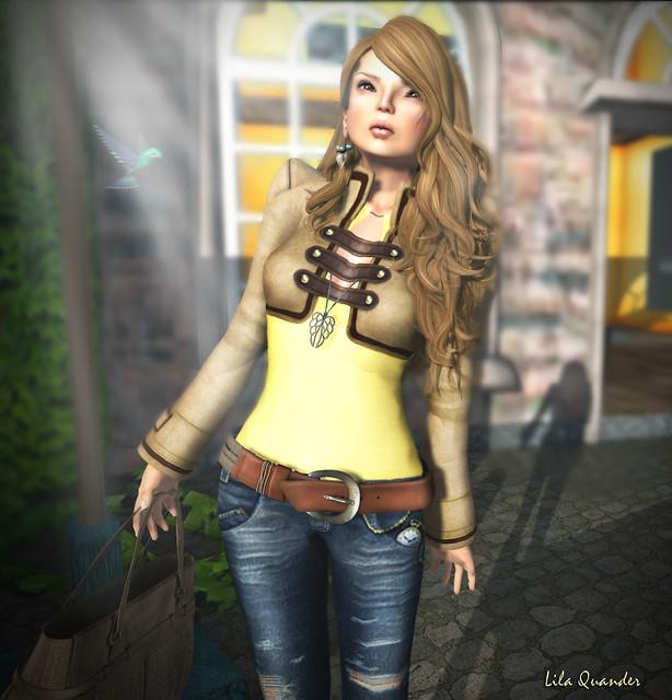 >TRUTH< Erika - honey & The Secret Store - Eglantine - Beige Suede (close)