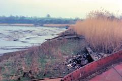 Lighters (R~P~M) Tags: uk greatbritain england abandoned river rust unitedkingdom decay gloucestershire severn lighter hulk wreck barge glos sharpness purton