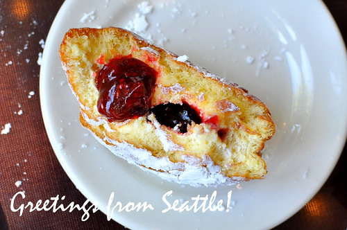 Jelly-Filled Postcard from Seattle