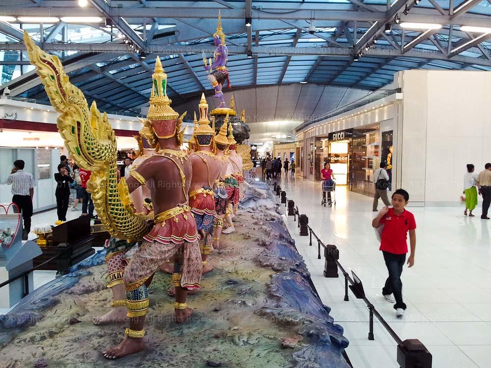 Airport @ Bangkok, Thailand