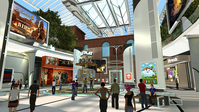 PlayStation Home - Hub