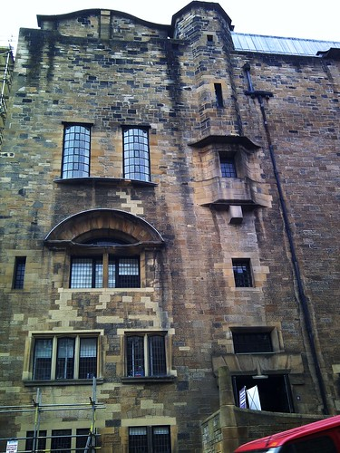 Aspect of Mackintosh designed Glasgow School of Art