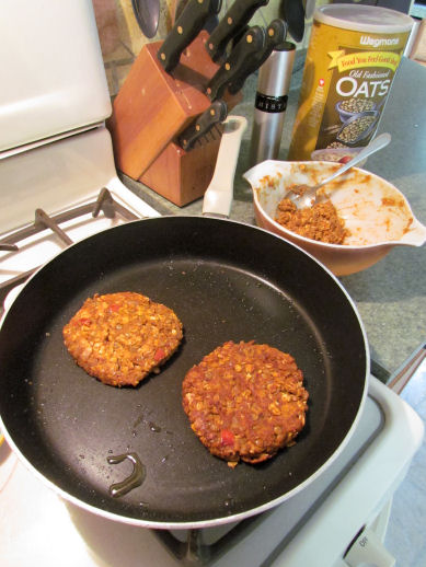 Lentil Tacos Turned Lentil Burgers