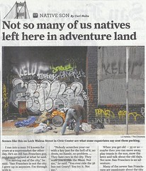 Kenya (Say Cheese & Die) Tags: sf news wonder graffiti newspaper kenya article jaws chronicle deno tunks kelor enyer zenphonik