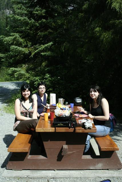bachelorette camping trip