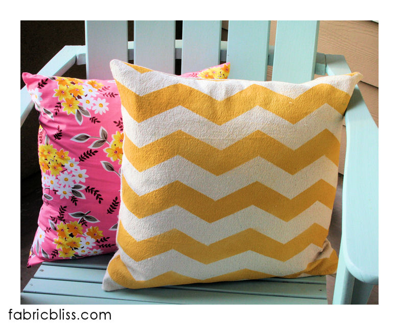 painted_chevron_pillow