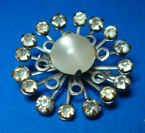 Atomic Starburst Vintage Brooch