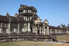 Angkor Wat - Gate (Rolandito.) Tags: gate cambodge cambodia kambodscha siem reap angkor wat