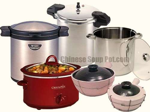 [photo-stainless stee stock pots and cookware]
