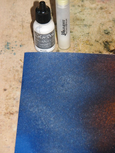 Pigment Reinker Technique 008