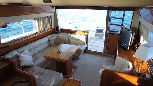 Featured Ibiza boat: Ferretti 53 Helissio by Barcoibiza.com