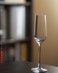 Empty glass (Rafael Llesta) Tags: portrait glass 50mm wine 60d borderfx
