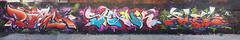 ROACH, SHANK and PLEA - New York, USA. (Ironlak) Tags: graffiti roach shank plea newyorkgraffiti ironlak dmote