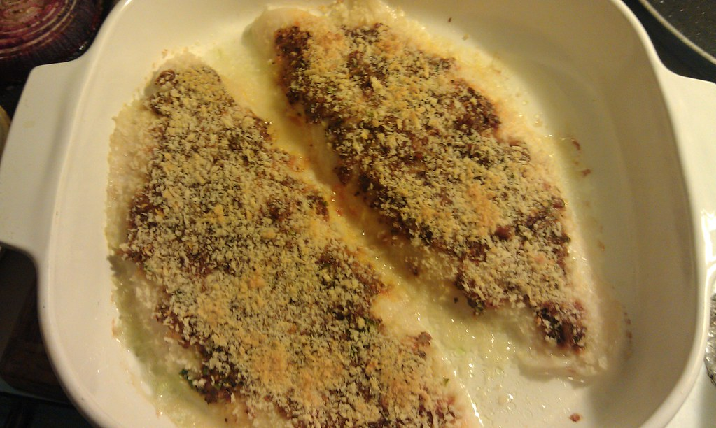 Tangy garlic cod