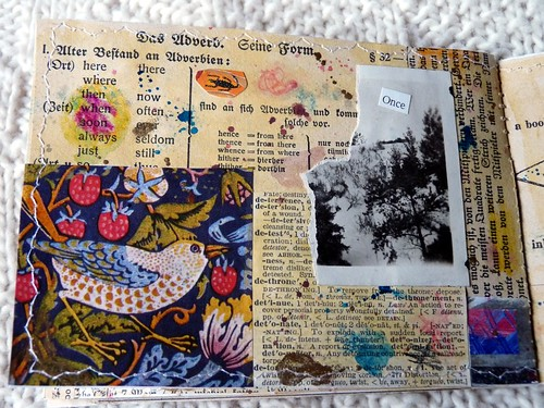 Mini Collage Book Wild nights 7