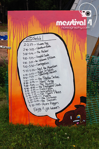 Line-up - Messtival 4 - 2011 - 04