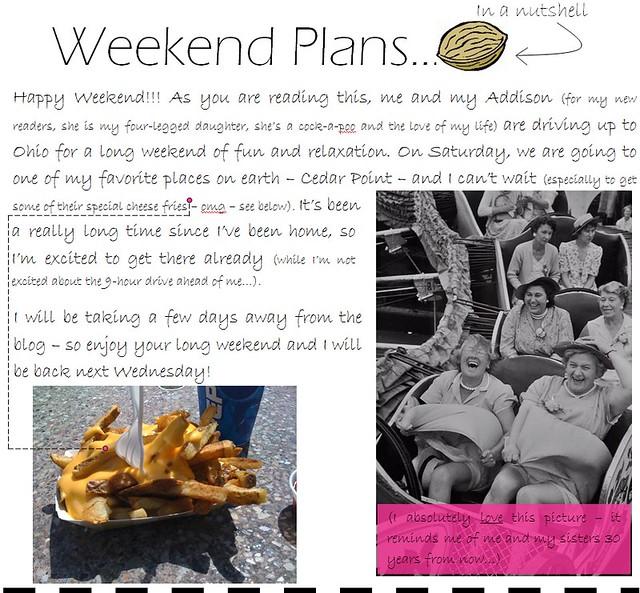 weekend plans 9.2