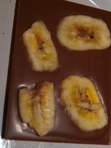 Gareth James Caramel Chocolate + Dried Banana