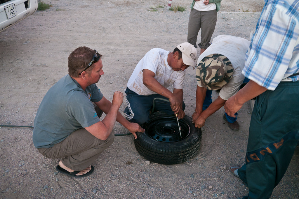 changing-tires-mongolia