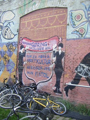 Graffiti in Christiania