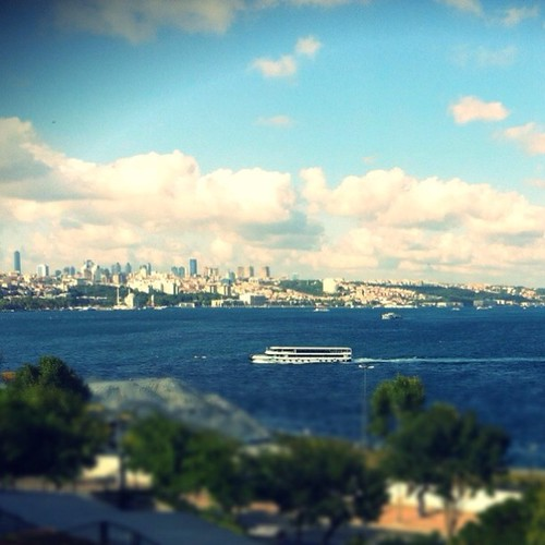 Crossing the Bosphorus #istanbul #bosphorus