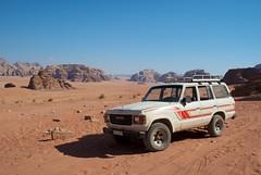 Wadi Rum (cranjam) Tags: mountains montagne rocks desert jeep wadirum middleeast 4wd unesco worldheritagesite jordan toyota rocce deserto mediooriente giordania wadiramm thevalleyofthemoon