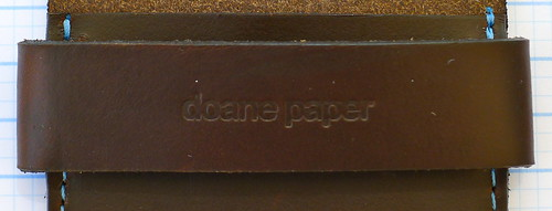 Doane Paper Leather Works Holster Strap