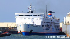 SuperFerry 5 leaving BREDCO Port (fangedboy8) Tags: asia southeastasia philippines visayas negros bacolodcity negrosoccidental bredco region6 westernvisayas