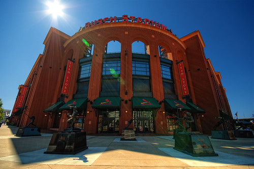 Busch Stadium by DisHippy
