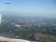 Flying over Dortmund_Germany ( TheFourSeasonsPhotography&more.) Tags: life sky wow germany landscapes football view air country explore land discovery magical fromaplane dortmund highup clearsky easyjet bvb staduim httpwwwbvbde