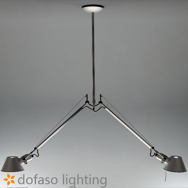 Artemide Double Head Pendant Light