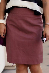 j. crew super 120s mauve pencil skirt