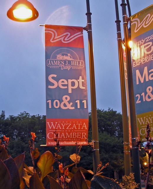 Wayzata Chamber - James J. Hill Banner