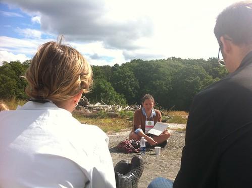 Emilia Blom leder session om kreativa möten på #sswc