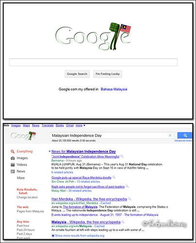 Google's Malaysia indep