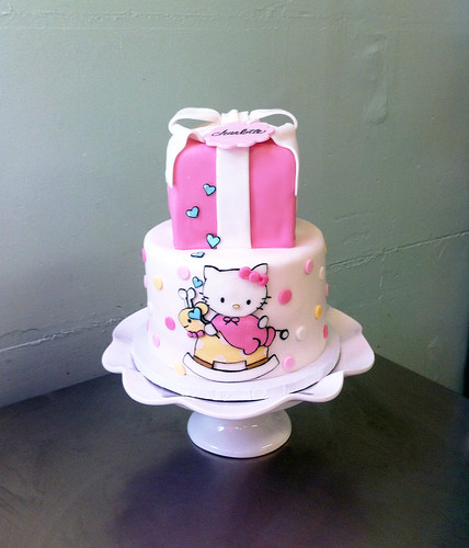 Hello Kitty Baby Shower by emmacakes