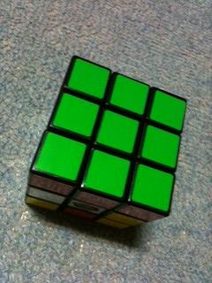 ルービックキューブの写真