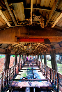 Abandoned Train (HDR)
