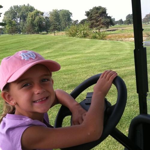 My golf chauffeur